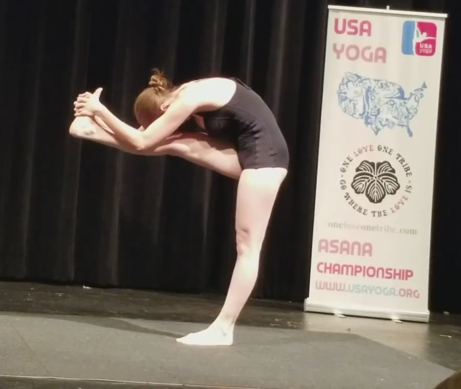 yoga national championship standing head to knee USA Yoga Midwest Regional 2017 Chicago