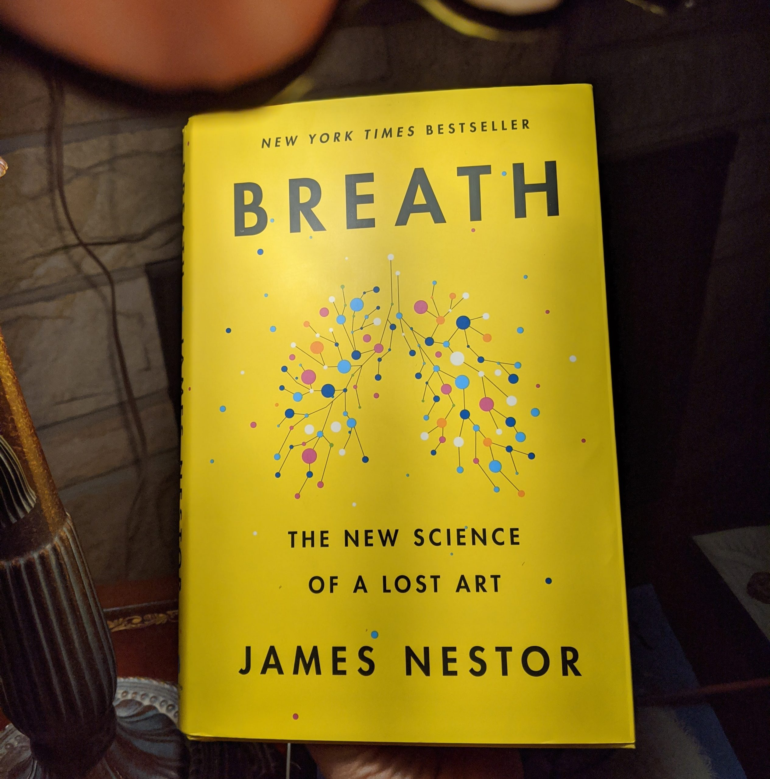 breath the new science of a lost art, book by james nestor