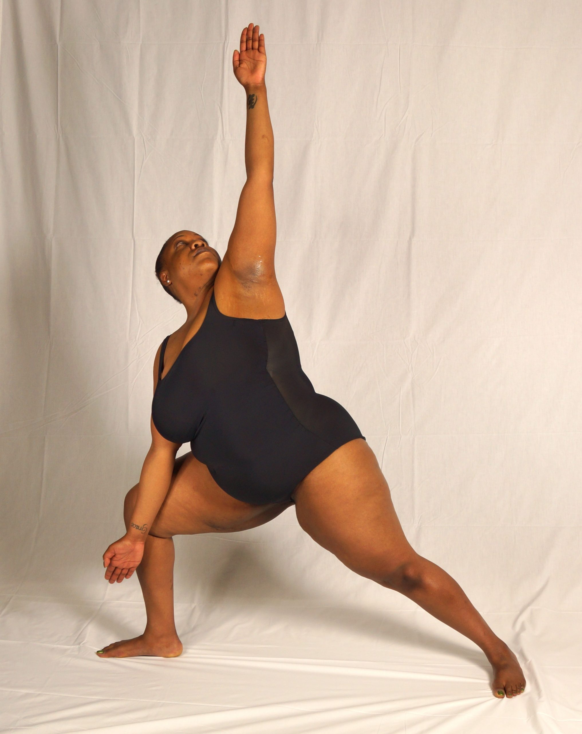 triangle bikram yoga bigger bodies