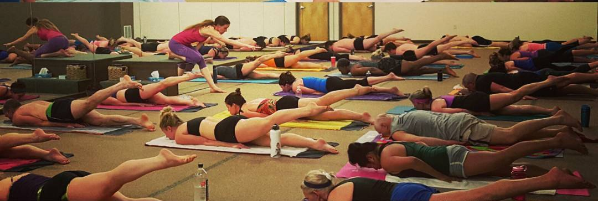 bikram yoga teaching coaching locust pose