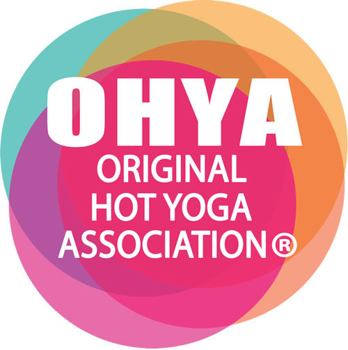 Original Hot Yoga Association Logo Bikram Yoga