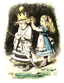 Alice and the White Queen Impossible Things
